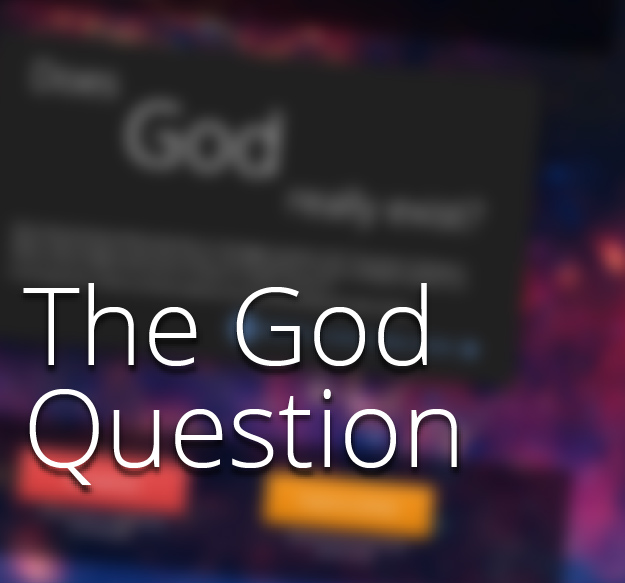 <span>The God Question</span><i>→</i>